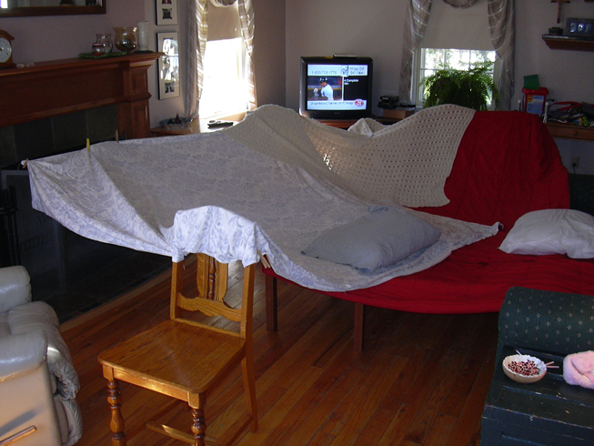 Fort With Sheets